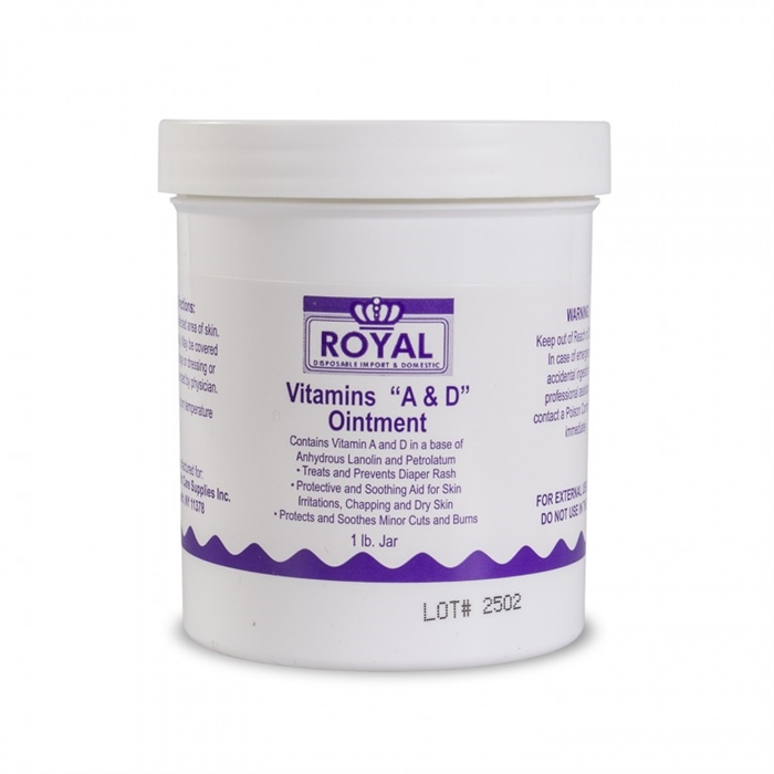 Royal - Vitamins A & D Ointment - Burk 450 gram.
