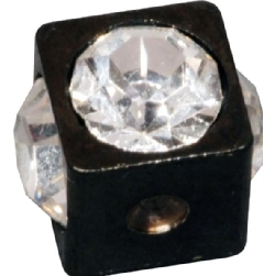 Steel Blackline® Clip-in Jewelled Cube