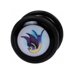 Fake Black Steel Plug 60 - Swallow
