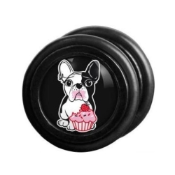 Fake Black Steel Plug 68 - Bulldog
