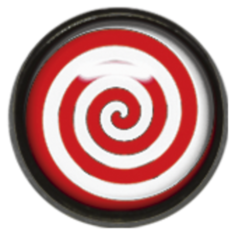 Titan Blackline® Picture Disc 10 - Red/White Spiral