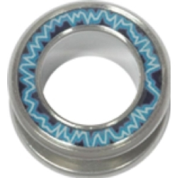 Steel Halo Flesh Tunnel - 11 Electric  18mm