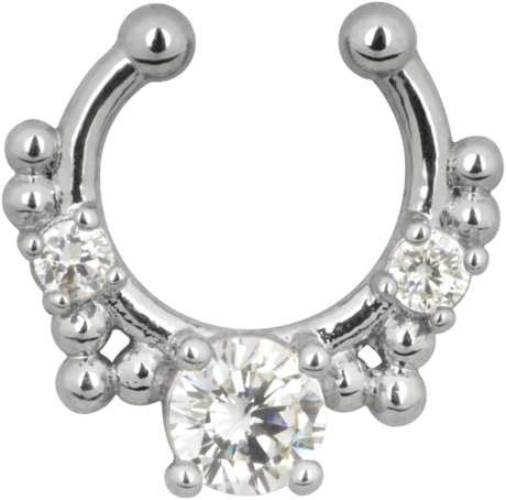 fake septum smycke