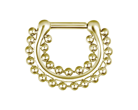 Steel-Zirconline®---Hinged-Septum-Shiny-Double-Chain