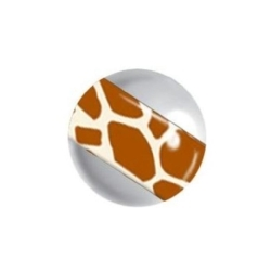 Titan Highline® Threaded Wildlife Stripe Ball - 04 Giraffe