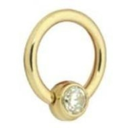 Titan Zirconline® Flat Back Jewelled Ring