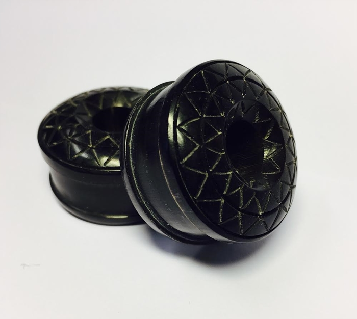 Horn Tunnel with Multi Star Pattern - 30 mm - Sold in pair