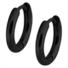 Steel Blackline® Little Clip Creoles 02 (10 mm) - Sold in pair