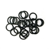 Black Silicone O-rings