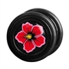 Fake Black Steel Plug 70 - Hibiskus