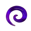 Acrylic Candy Spiral - Purple