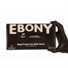 Ebony Black Nitrile Gloves Powder Free - Box of 100 pc
