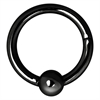Steel Blackline® Hinged BCR Ring