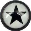 Steel Blackline® Ikon Ball - 10 Black on White Star