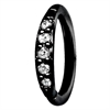 Steel Blackline® – Pave Setting Crystals Top