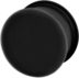 Silicone Softwear Hollow Plug - Black