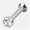 Titan Highline® Mini Jewelled Base for Triple Piercing