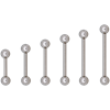 Titan Highline® 1.6 mm Barbell with 4 mm Balls