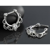 Steel Fairytale Septum Silver Clicker